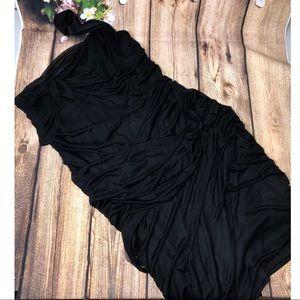 Torrid One Shoulder Ruched Dress
